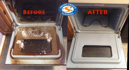 Stove Cleaning Before & After