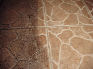 commercial tile and grout cleaning